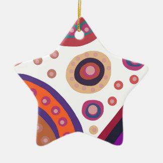 Lost In Space Ceramic Star Decoration