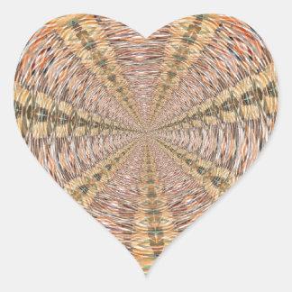 Lost in Space Heart Sticker