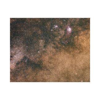 Lost in the Milky Way Canvas Print