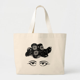 Lost in Thought Jumbo Tote Bag
