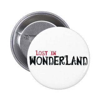 Lost in Wonderland 6 Cm Round Badge