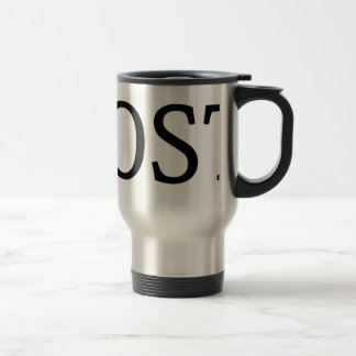 LOST ITEMS TRAVEL MUG