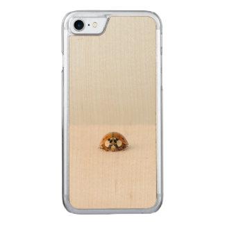 Lost ladybug carved iPhone 8/7 case