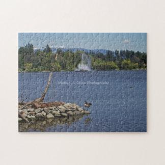Lost Lagoon Jigsaw Puzzle