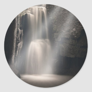 Lost Love Waterfall Classic Round Sticker