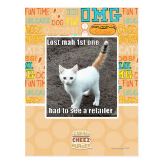 Lost Mah 1st One Postcard