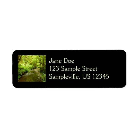 Lost Man Creek I at Redwood National Park Return Address Label