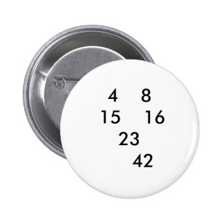 LOST numbers pin