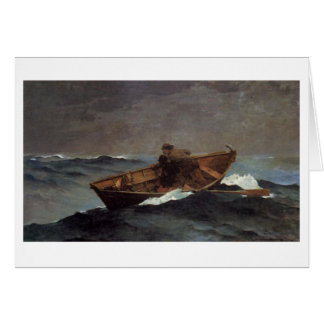 Lost on the Grand Banks Greeting Card