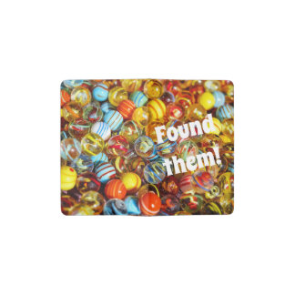 Lost or found marbles or mind journal daybook