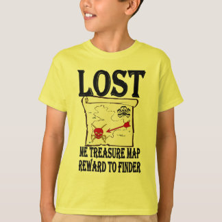 Lost Pirate Treasure Map T-Shirt