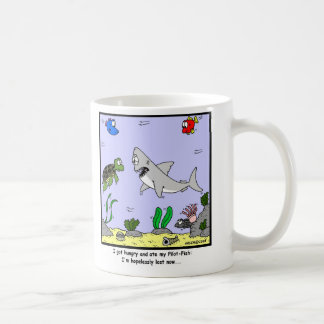 Lost: Shark Cartoon Coffee Mug