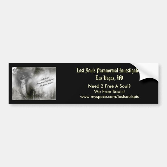 Lost Souls Bumper Sticker (Angel Logo)