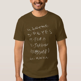 LOST - The Candidates T Shirts