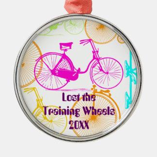 Lost the Training Wheels Bike Keepsake and Year Christmas Ornament