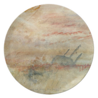 Lost to All Hope The Brig, c.1845-50 (w/c & graphi Dinner Plates