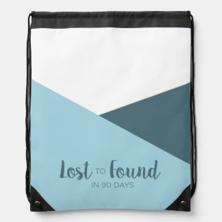 Lost to Found in 90 Days Colorblock Backpack