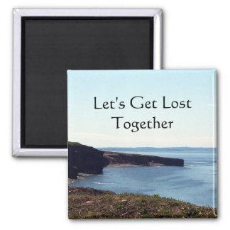 Lost Together Magnet