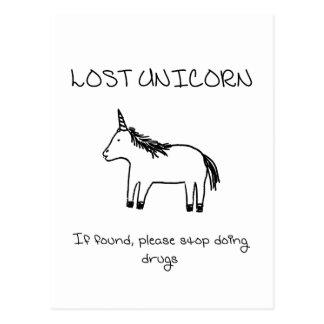 Lost Unicorn Postcard