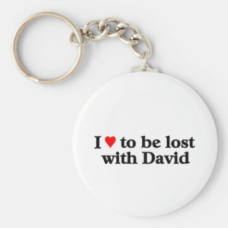 Lost with david key chain