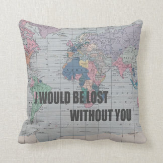 Lost Without You pillow