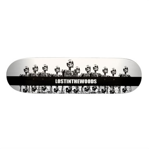 lostinthewoods skateboard decks