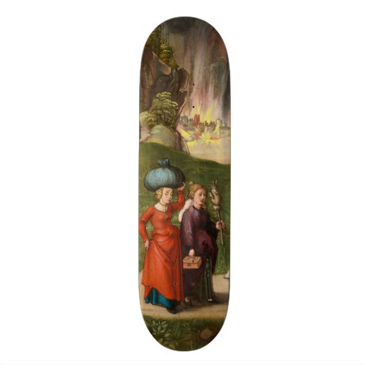 Lot and His Daughters by Albrecht Durer Skate Decks
