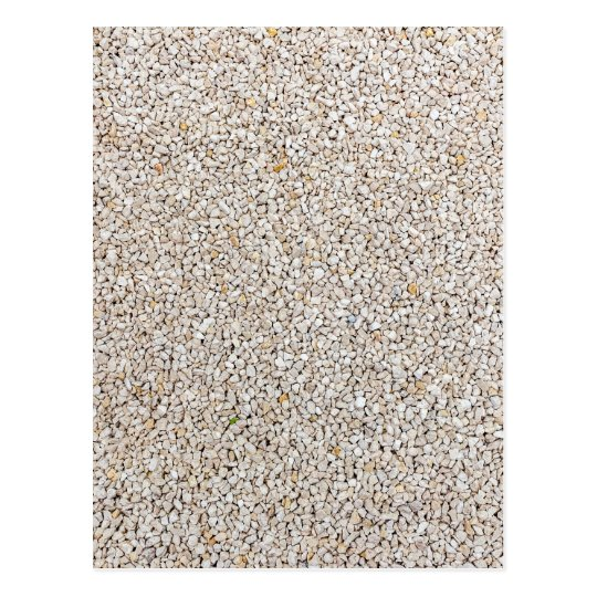 Lot of grey gravel stones as background postcard