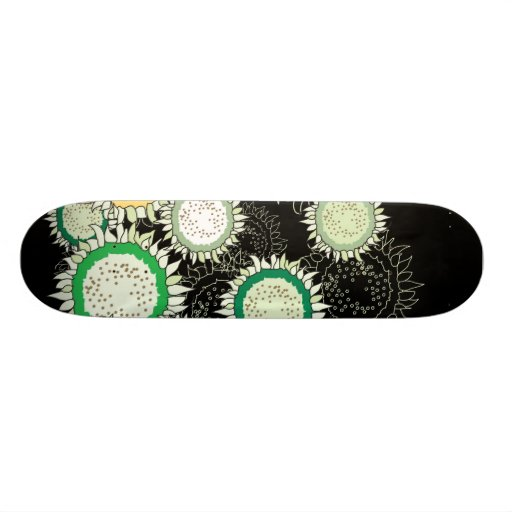Lot of Sunflowers Skate Boards