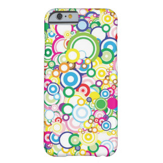 Lot of vivid circles barely there iPhone 6 case