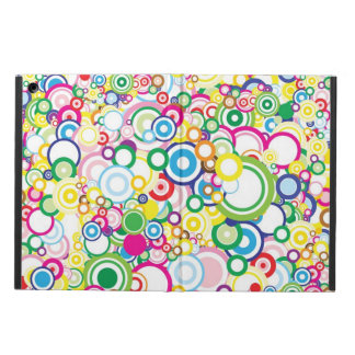 Lot of vivid circles case for iPad air