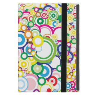 Lot of vivid circles case for iPad mini