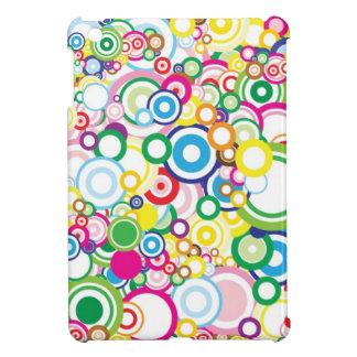 Lot of vivid circles cover for the iPad mini
