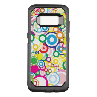 Lot of vivid circles OtterBox commuter samsung galaxy s8 case