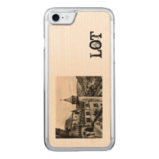 Lot ROC Amadour Religious City France 1950 Carved iPhone 8/7 Case