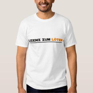 löten t-shirt