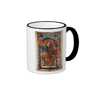 Lothair I Enthroned, from  'Evangiles de Ringer Mug