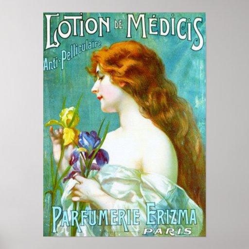 Lotion de Medicis Anti-Pelliculaire Posters