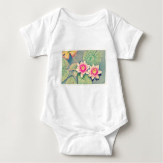 Lotos Flower Baby Bodysuit