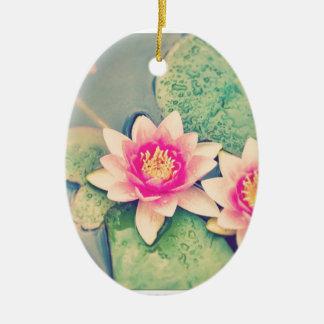 Lotos Flower Christmas Ornament