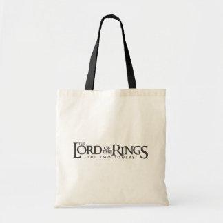 LOTR horizontal logo Budget Tote Bag