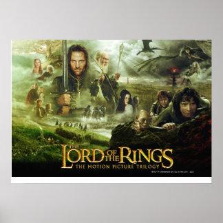 LOTR Movie Poster Art