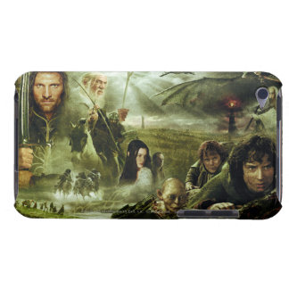 LOTR Movie Poster Art Barely There iPod Covers
