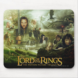 LOTR Movie Poster Art Mouse Mat