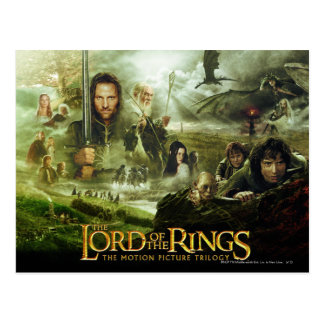 LOTR Movie Poster Art Postcard