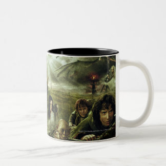 LOTR Movie Poster Art Two-Tone Coffee Mug