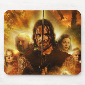 LOTR: ROTK Aragorn Movie Poster Mouse Mat