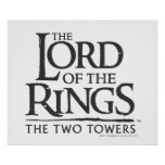 LOTR stacked logo Posters