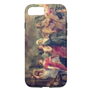 Lot's Family Leaving Sodom, 1625 (oil on panel) iPhone 8/7 Case