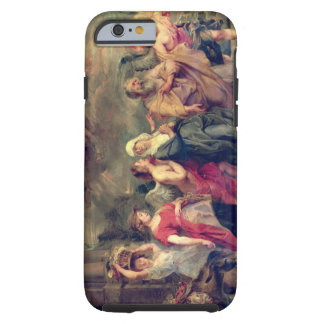Lot's Family Leaving Sodom, 1625 (oil on panel) Tough iPhone 6 Case